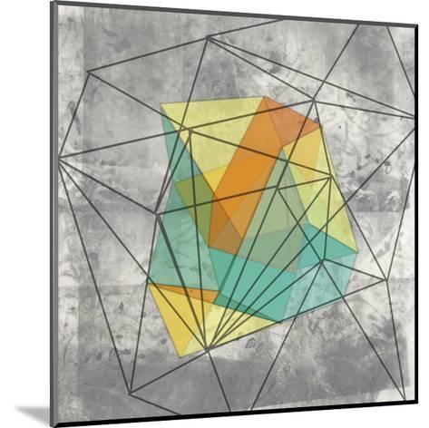 Geomolecule I-Jennifer Goldberger-Mounted Art Print