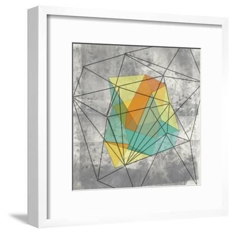 Geomolecule I-Jennifer Goldberger-Framed Art Print