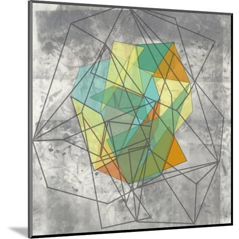 Geomolecule II-Jennifer Goldberger-Mounted Art Print