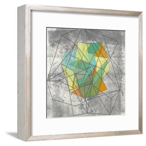 Geomolecule II-Jennifer Goldberger-Framed Art Print