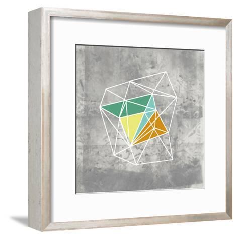 Geomolecule III-Jennifer Goldberger-Framed Art Print