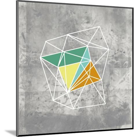 Geomolecule III-Jennifer Goldberger-Mounted Art Print