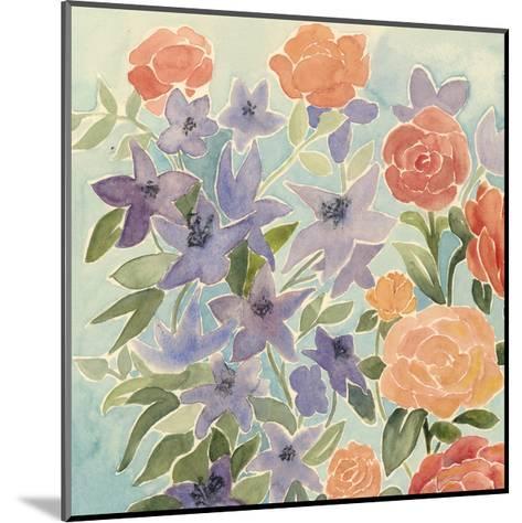 Flowers for Lilly I-Grace Popp-Mounted Art Print