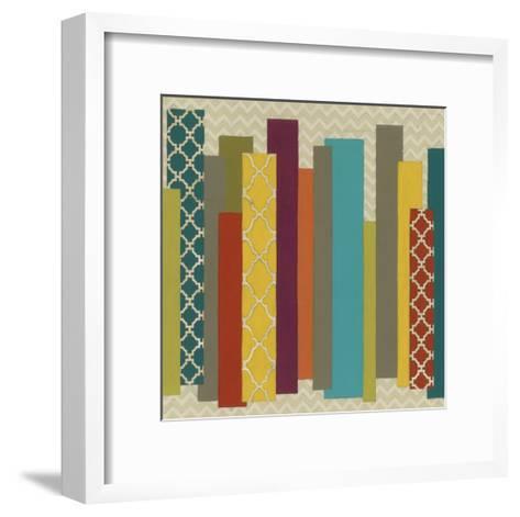 Patternscape II-June Erica Vess-Framed Art Print