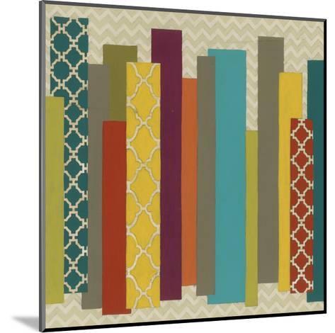 Patternscape II-June Erica Vess-Mounted Art Print