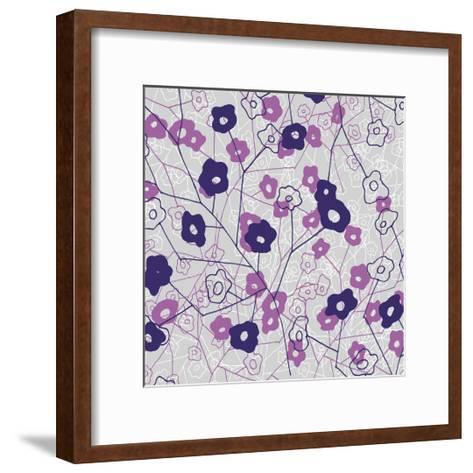 Cottage Rose Garden IV-Ali Benyon-Framed Art Print