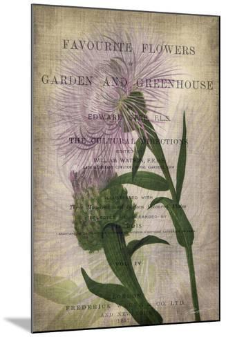 Favorite Flowers II-John Butler-Mounted Art Print
