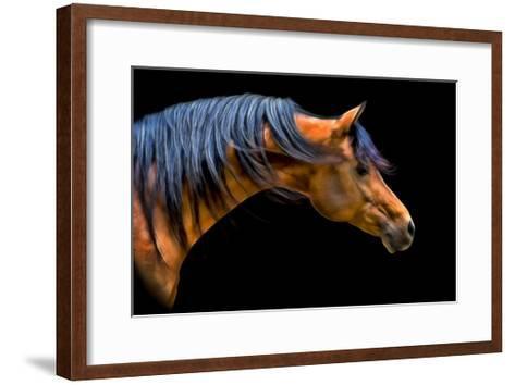Wind Swept-PH Burchett-Framed Art Print