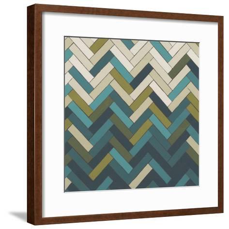 Parquet Prism I-June Erica Vess-Framed Art Print