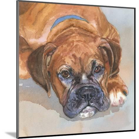 Baillie Boxer-Edie Fagan-Mounted Art Print