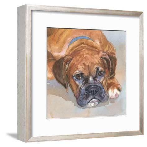 Baillie Boxer-Edie Fagan-Framed Art Print