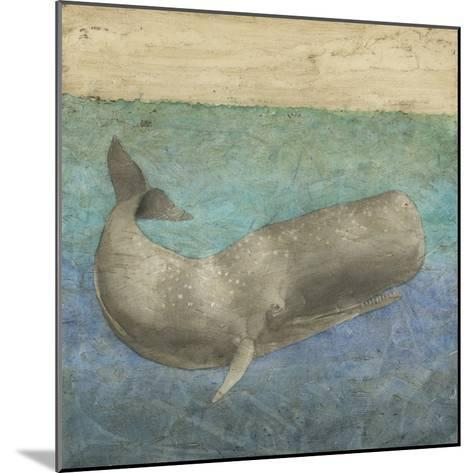 Diving Whale II-Megan Meagher-Mounted Art Print
