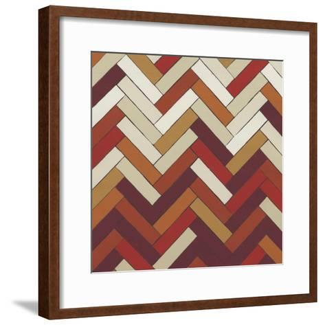 Parquet Prism IV-June Erica Vess-Framed Art Print
