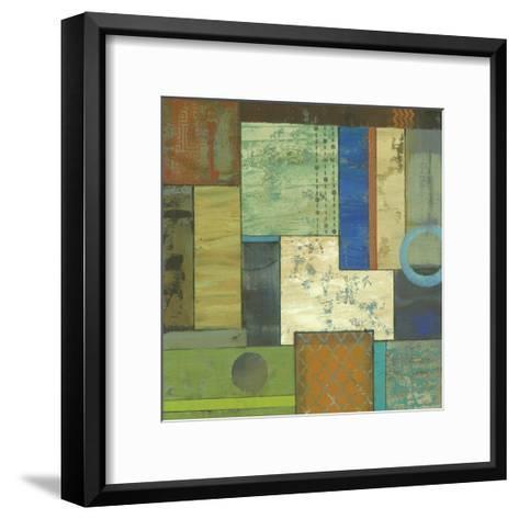 Fossil Infusion III A-Julie Joy-Framed Art Print