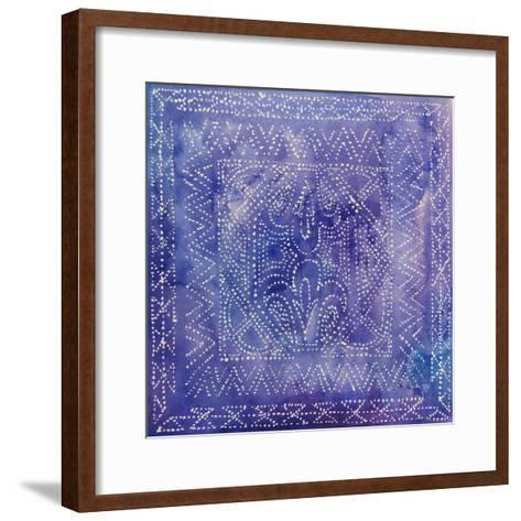 Batik Nebula II-Grace Popp-Framed Art Print
