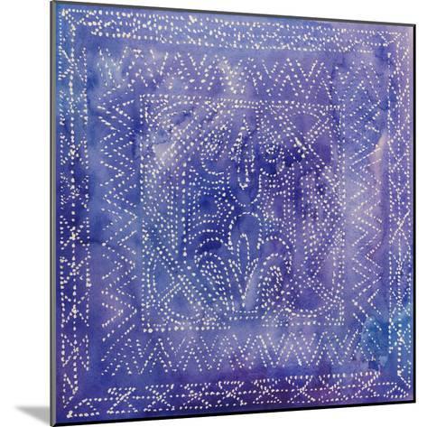 Batik Nebula II-Grace Popp-Mounted Art Print
