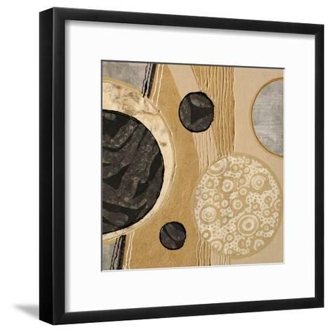Calm Circles I-Irena Orlov-Framed Art Print