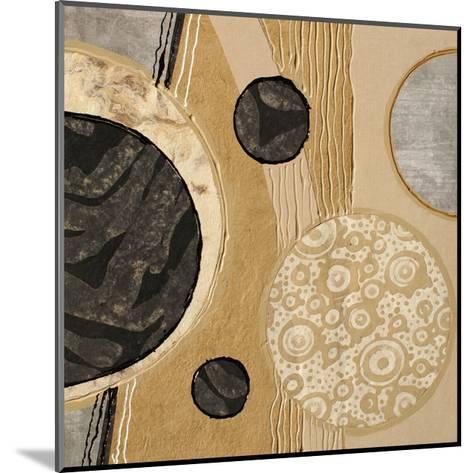 Calm Circles I-Irena Orlov-Mounted Art Print