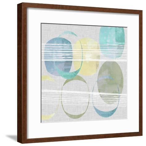 Stone Pattern I-Jennifer Goldberger-Framed Art Print