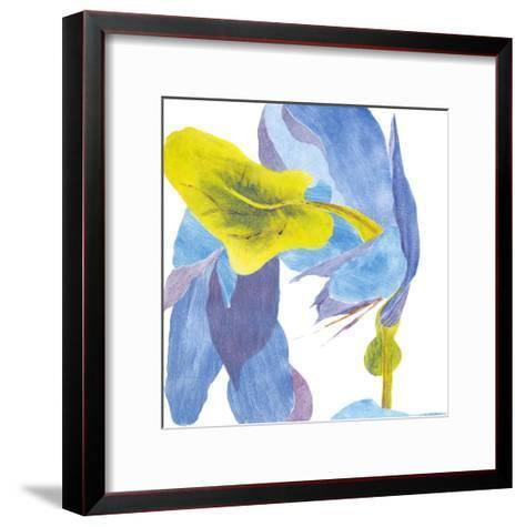 Surprise Indigo III-Carolyn Roth-Framed Art Print