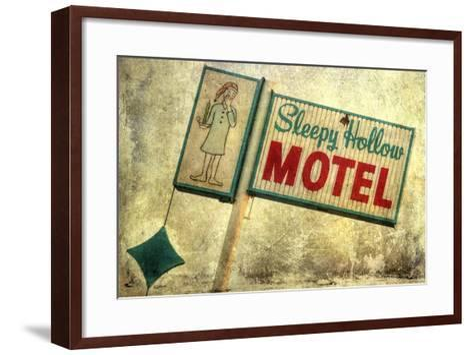 Vintage LA X-Honey Malek-Framed Art Print