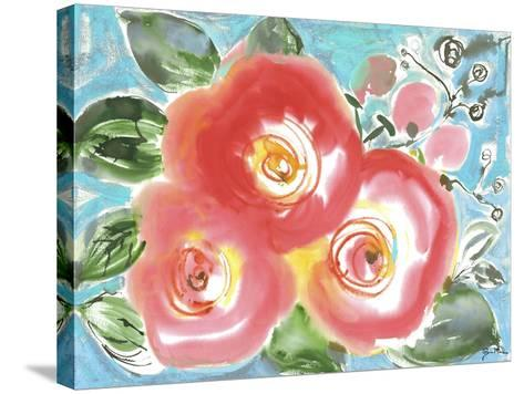 Bed of Roses II-Julia Minasian-Stretched Canvas Print