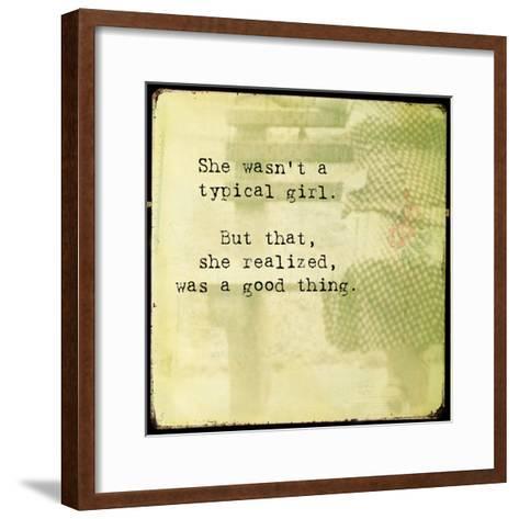 She I-Jennifer Jorgensen-Framed Art Print