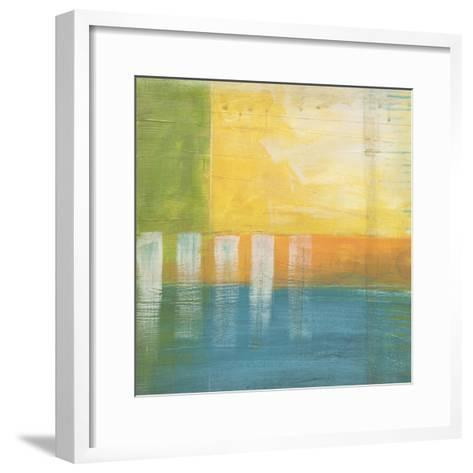 Citrus Fields I-Erica J^ Vess-Framed Art Print