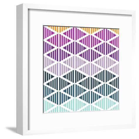 Tribal Arrows III-Nicole Ketchum-Framed Art Print