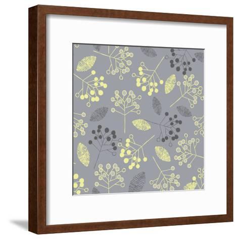 Winter's Grey VII-Ali Benyon-Framed Art Print