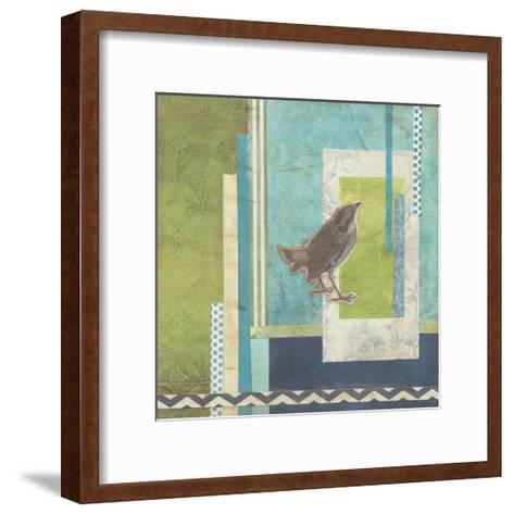 Avian Scrapbook II-Erica J^ Vess-Framed Art Print