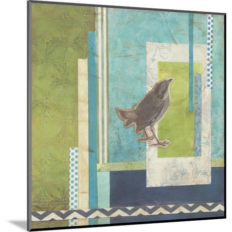 Avian Scrapbook II-Erica J^ Vess-Mounted Art Print