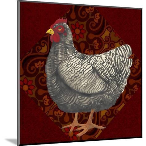 Yard Bird IV-Grace Popp-Mounted Art Print