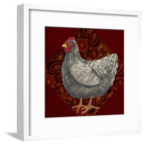 Yard Bird IV-Grace Popp-Framed Art Print