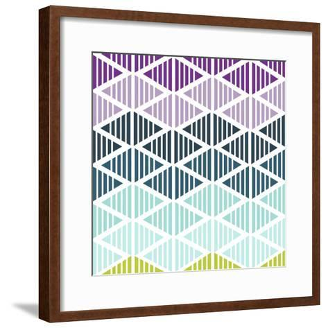 Tribal Arrows IV-Nicole Ketchum-Framed Art Print