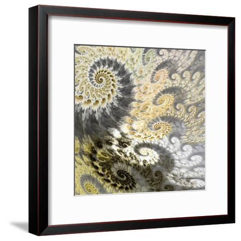 Fibonacci Tiles II-James Burghardt-Framed Art Print