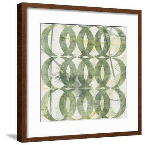 Metric Link V-Jennifer Goldberger-Framed Art Print