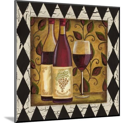 Harlequin and Wine I-Carolee Vitaletti-Mounted Art Print