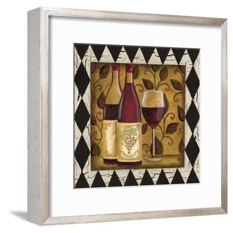Harlequin and Wine I-Carolee Vitaletti-Framed Art Print