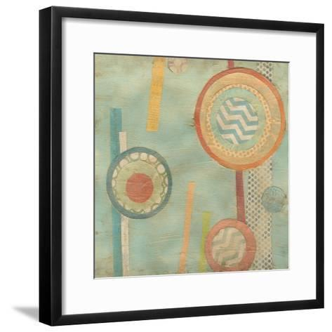 Bits and Pieces III-Erica J^ Vess-Framed Art Print