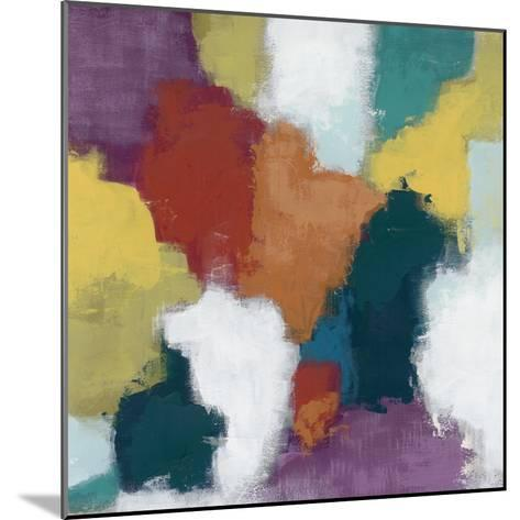 Color Cascade II-June Erica Vess-Mounted Art Print