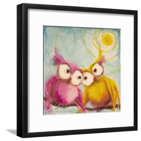 Hoo Loves You-Marabeth Quin-Framed Art Print