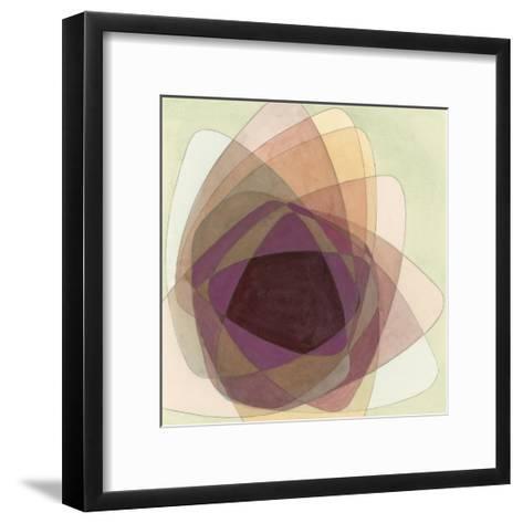 Rose Facet I-Renee W^ Stramel-Framed Art Print