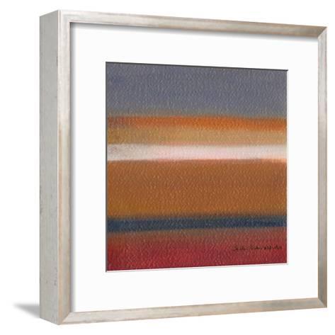 Radiance III-W^ Green-Aldridge-Framed Art Print