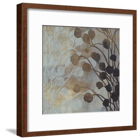 Spa Blue and Gold II-Tim O'toole-Framed Art Print