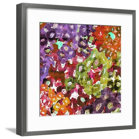 Floral Barrage I-James Burghardt-Framed Art Print
