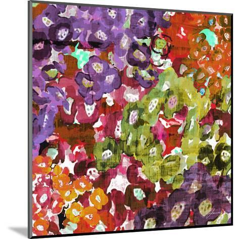Floral Barrage I-James Burghardt-Mounted Art Print