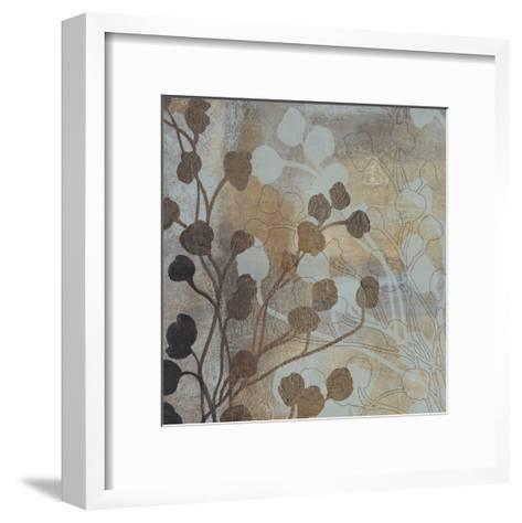 Spa Blue and Gold I-Tim O'toole-Framed Art Print
