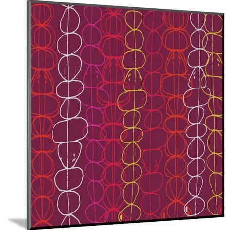 Red Fall III-Ali Benyon-Mounted Art Print