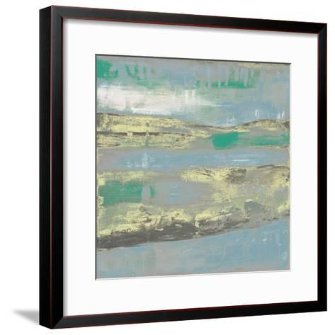 Cool Horizon I-Jennifer Goldberger-Framed Art Print
